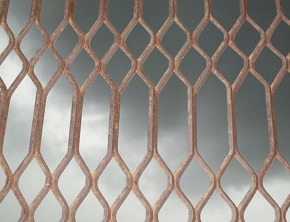 Mesh Net Firm Wrought Shaped Iron Oxide Metal Weld