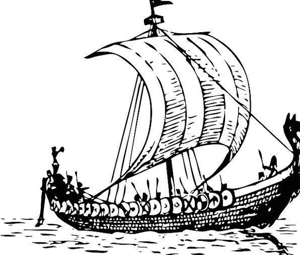 Ship Vacation Travel Pirate Buccaneer Boat Sailboa