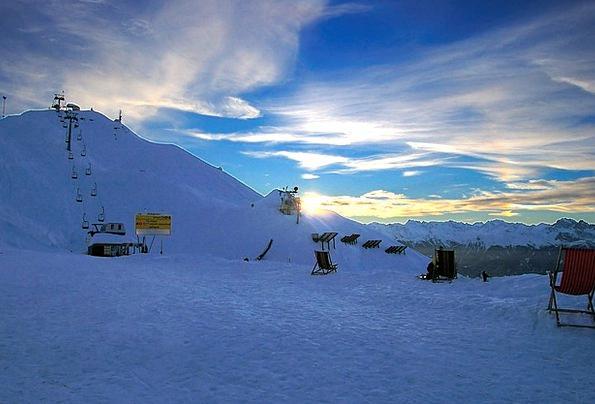 Mountains Crags Vacation Snowflake Travel Sun Loun