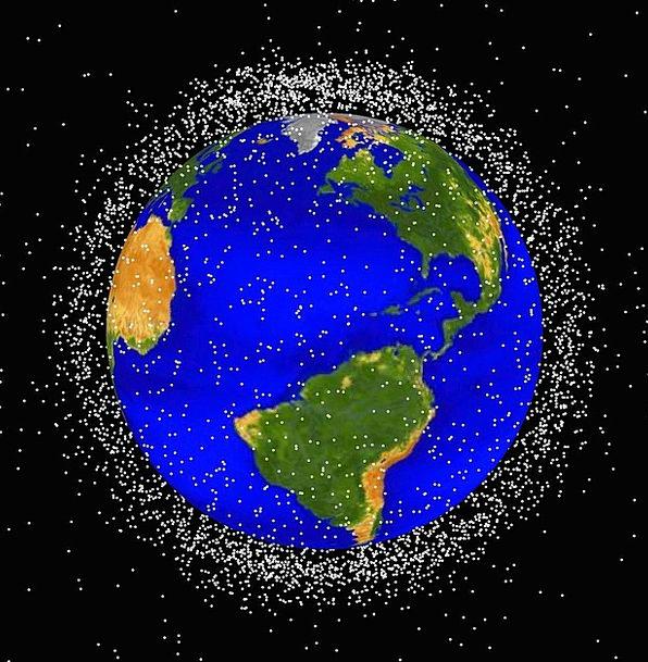 Space Junk Orbits Paths Space Debris Space Interpl