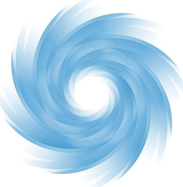 Eddy Whirlpool Azure Strudel Blue Pinwheel Rocket