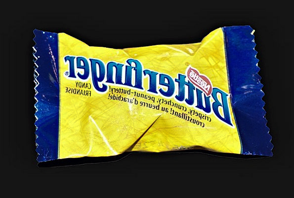 Nestle Snuggle Chocolate Brown Butterfinger Sweet