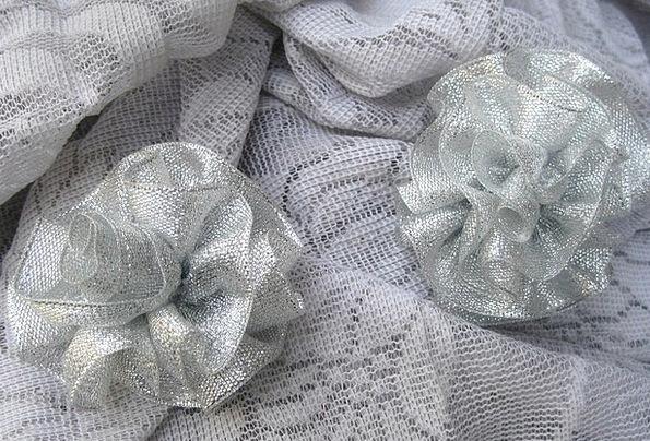 Wedding Bridal Design Brooch Badge Rose Vintage Ou