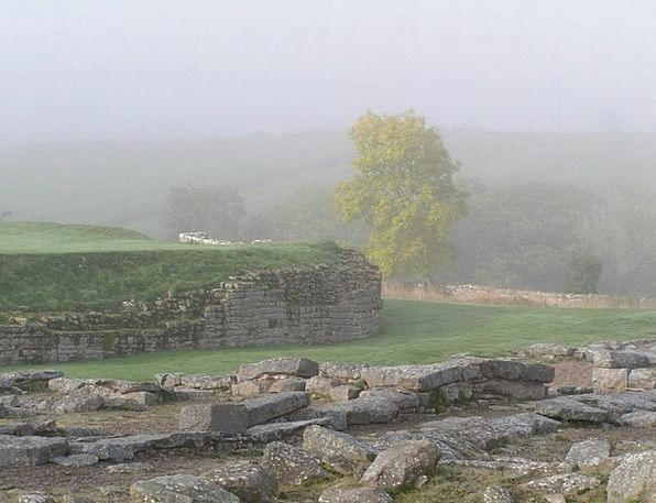 Hadrian'S Wall Haze Atmospheric Impressive Mist Ro