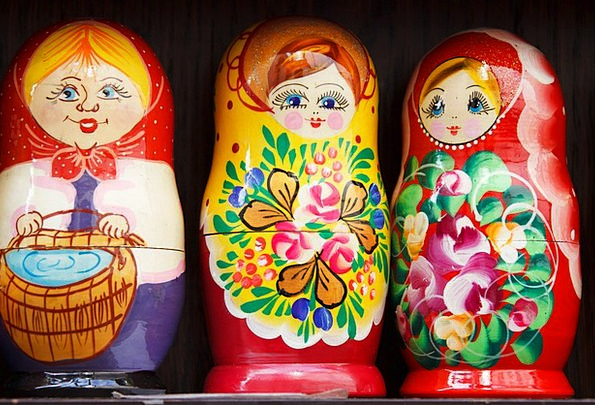 Babushka Interesting Decoration Beautification Col
