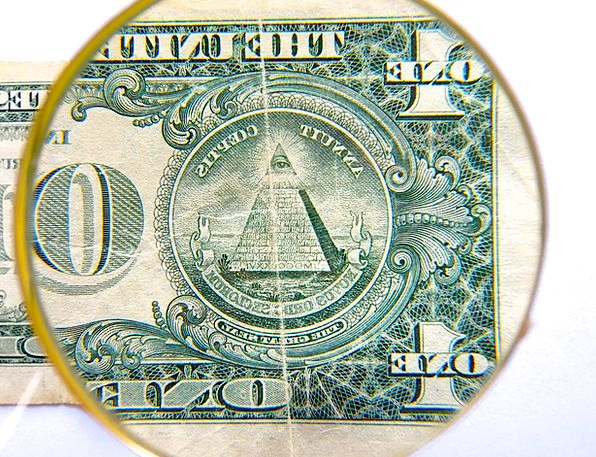 Dollar Buck Finance Business Currency Money Pyrami