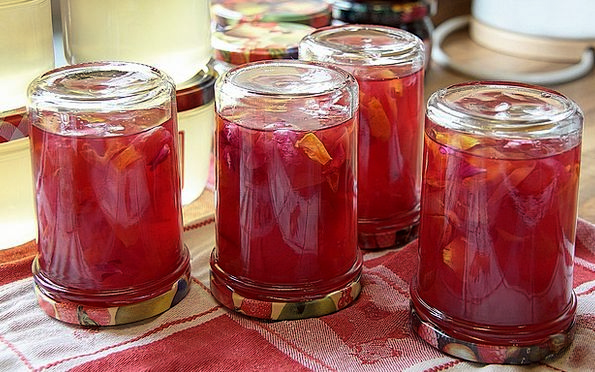 Jam Gridlock Drink Dismissing Food Jelly Gelatin C