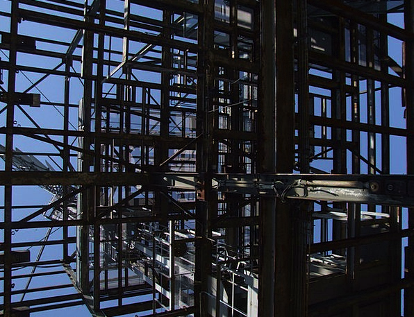 Scaffold Support Buildings Manufacturing Architect
