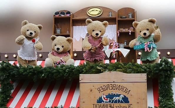 Bear Tolerate Toys Puppet Theatre Dolls Teddy Bear