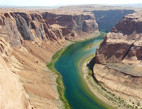 Horseshoe Bend Sheet Arizona Page Colorado River U