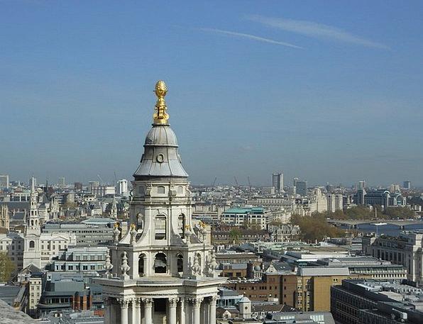 London Buildings Horizon Architecture City Urban S