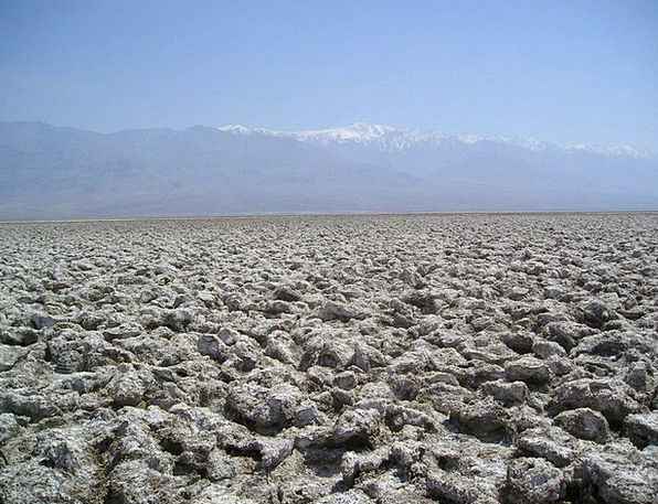 Salt Lake Death Valley Usa California Desert Rewar