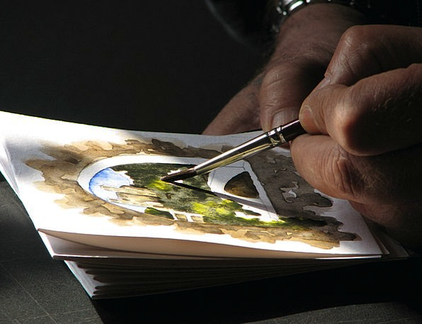 Watercolor Gouache Artist Artists Performers Paint