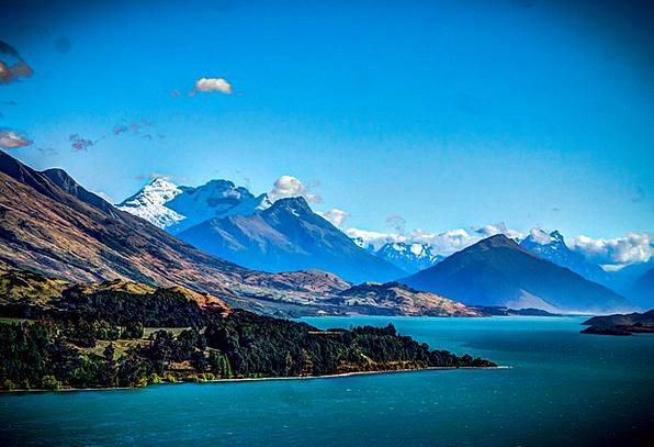 Million Dollar View Landscapes Nature New Zealand
