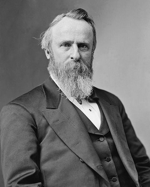 President Leader United States Usa Rutherford Birc