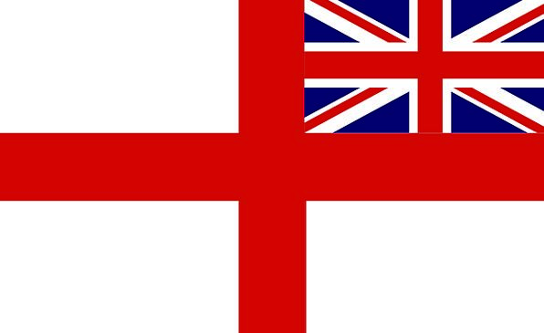 Variant Irregular Standard United Kingdom Flag Sym