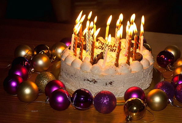 Birthday Cake Drink Tapers Food Cake Bar Candles B