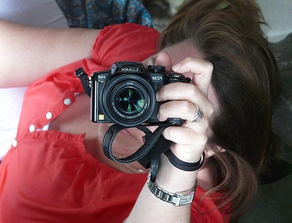 Photographer Paparazzo Fashion Beauty Hand Pointer