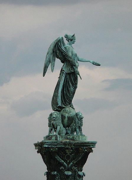 Jubilee Column Schlossplatzfest Stuttgart Bronze S