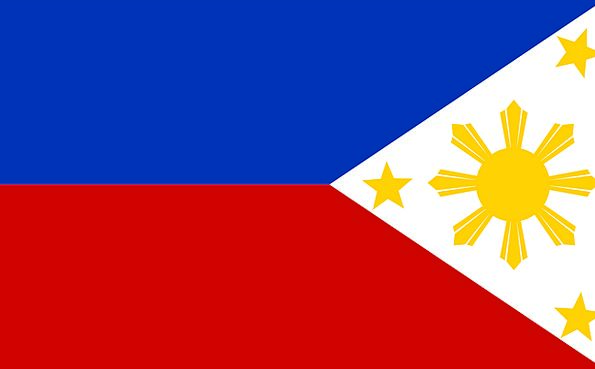 Philippines Standard Filipino Flag National Nation