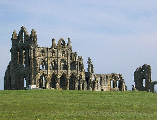 Whitby Vacation Cloister Travel Old Abbey Religion
