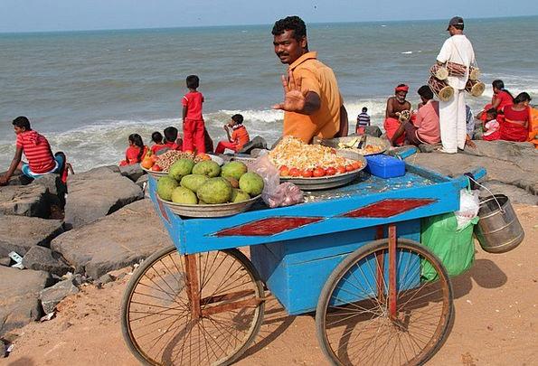 India Vacation Travel Seller Vendor Indians Beach