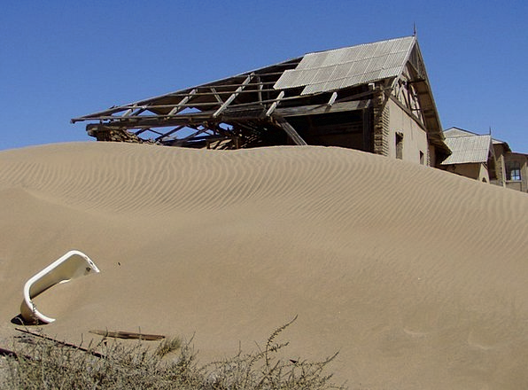 Kolmanskoppe Ghost Town Namibia Africa Diamonds De