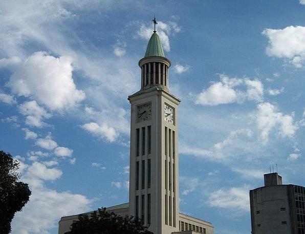 Church Tower Itam São Gabriel Cruz
