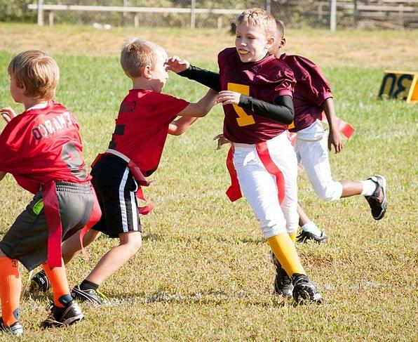 Flag Football Ball Sport Diversion Football Coach
