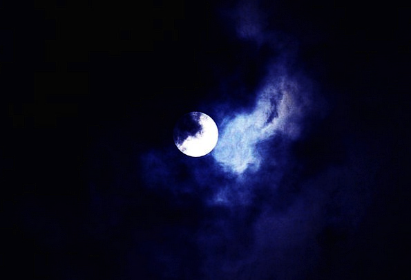 Moon Romanticize Landscapes Nature Night Nightly S
