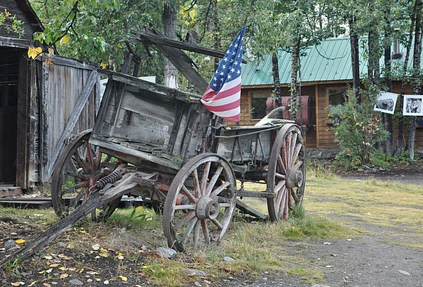 Usa Covered Wagon Wild West