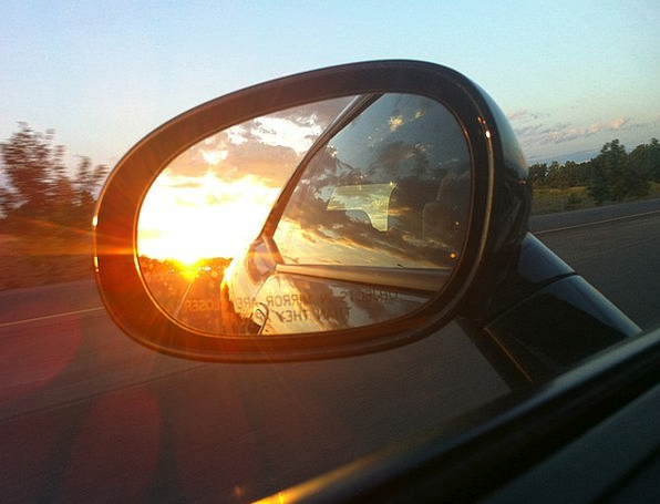 Rear-View Mirror Traffic Glass Transportation Car