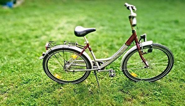 Bike Motorbike Field Sport Diversion Meadow Child'