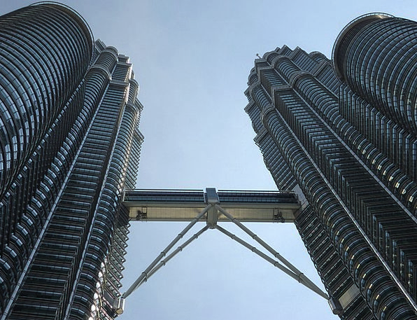 Malaysia Asian Double Tower