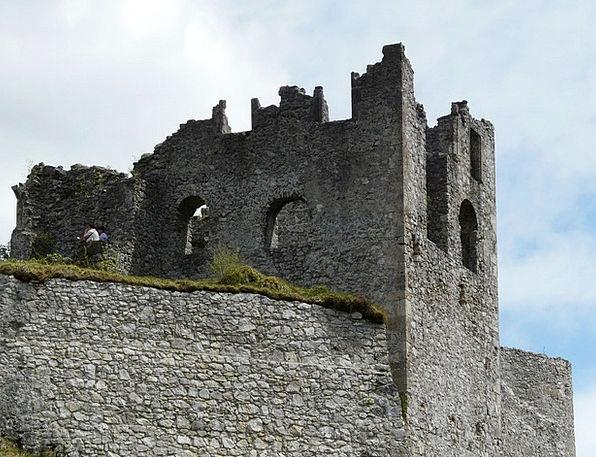 Ruin Devastation Buildings Fortress Architecture B