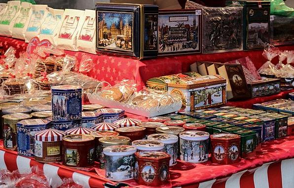 Gingerbread Cans Christmas Market Nuremberg Ginger
