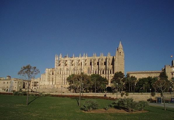 Palma Cathedral Palma De Mallorca Church Ecclesias