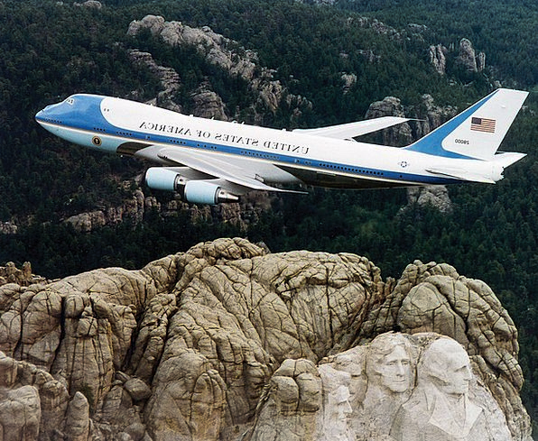 President Machine Airplane Air Force One Aircraft