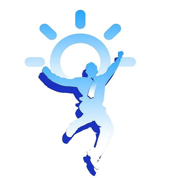 Joy Happiness Fluke Icon Image Luck Weather Symbol Sign Sun