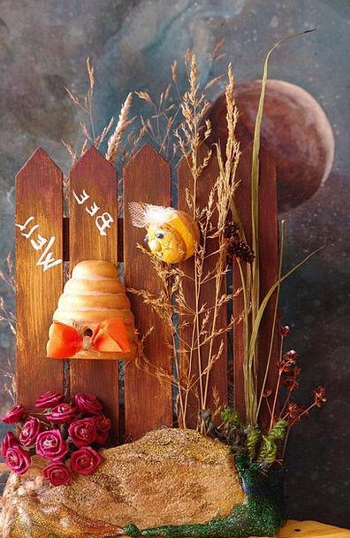 Bee Recover Be Well Get Well Bee Hive Decoration O