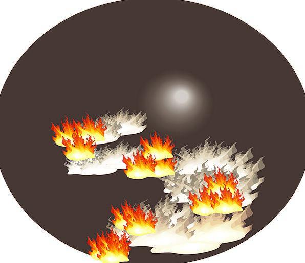 Fire Passion Landscapes Danger Nature Disaster Tra