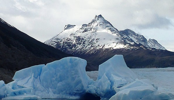 Patagonia Landscapes Nature Ice Frost Glacier Chil
