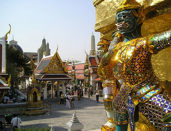 Thailand Temple Shrine Bangkok Royal Palace Asia P