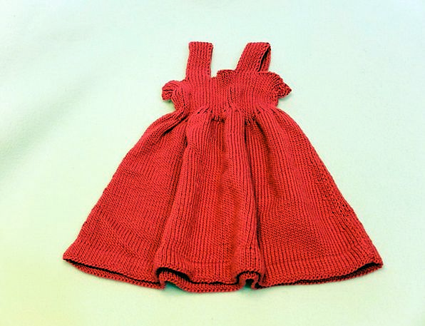 Baby Dress Craft Industry Red Bloodshot Fress Home