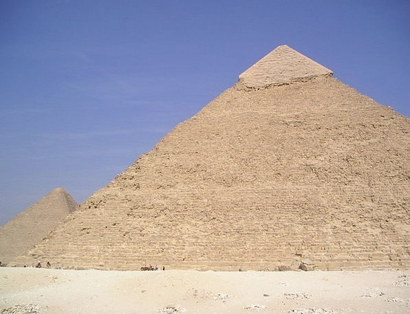 Egypt Pyramid Chephren Egyptians Gizeh Culture Wel