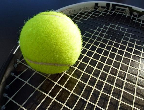Tennis Tennis Racket Tennis Ball Sport Diversion T