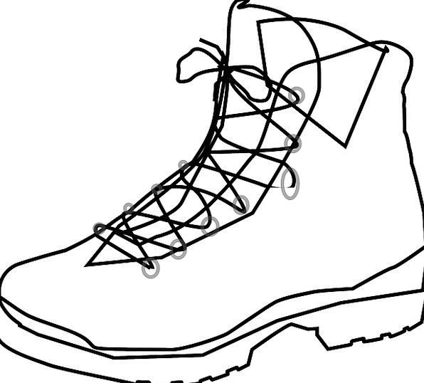 Shoe Gumboot Footwear Boot Free Vector Graphics Bo