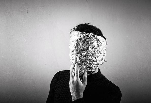 Anonymous Nameless Aluminium Aluminum Metallic Foi