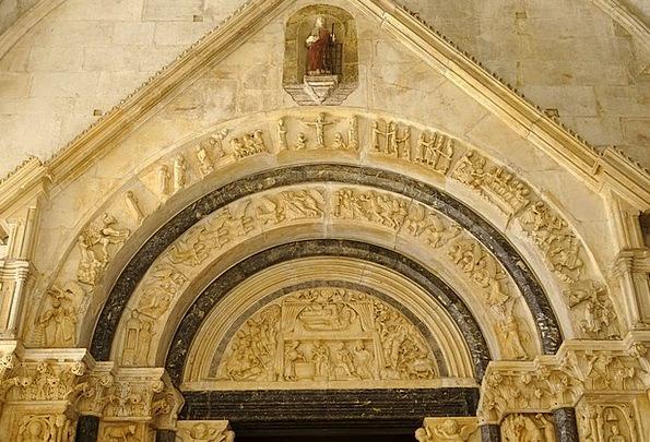 Archway Arch Kirc Trogir Unesco Hey Europe Rhaeto
