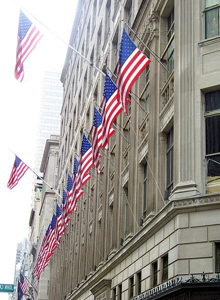 Flags Streamers Buildings Collection Architecture